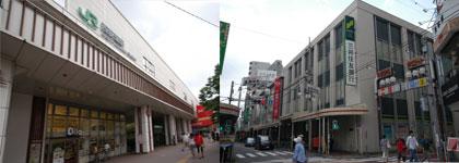 中央線西荻窪駅周辺
